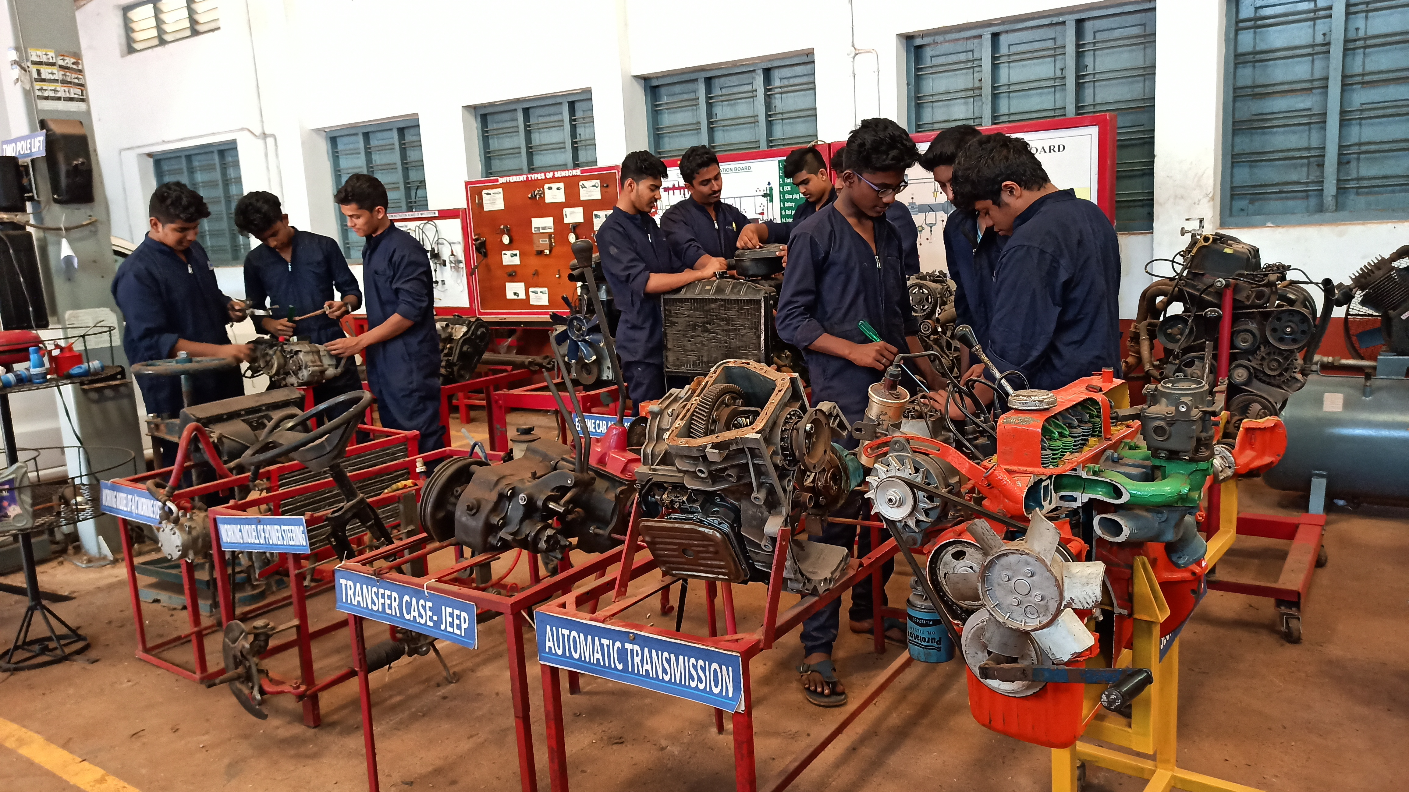 Mechanic Motor Vehicle 2019 (year 1)